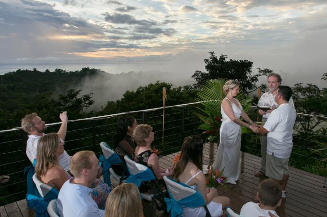Wedding Photography in Manuel Antonio Costa Rica by John Williamson - Montemar