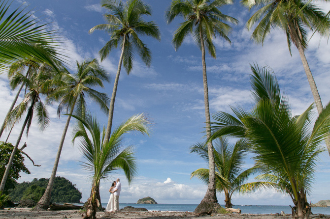 HoneyMoon Photography In Manuel Antonio Costa Rica by John Williamson Photography